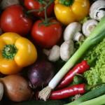 mixat med grönsaker