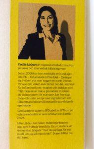 """Invikning i """"Studentmat: snabba rätter som boostar kropp & hjärna"""" med presentation av författaren Cecilia Linhart"""